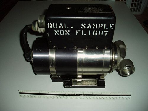 Saturn Instrument Unit coolant pump