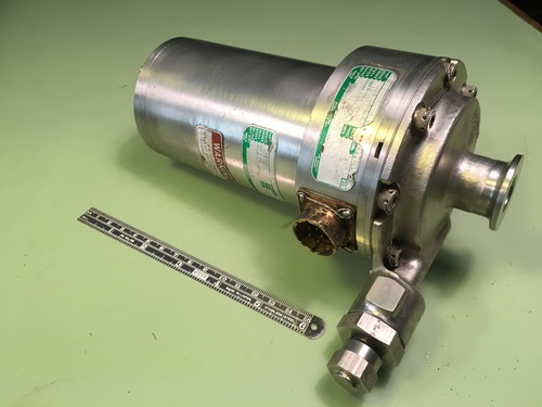 Apollo Command Module Water Glycol Pump
